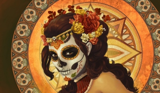 Dia De Muertos Background for Android, iPhone and iPad
