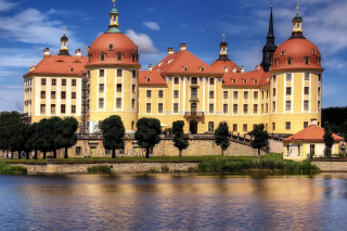 Moritzburg Castle in Saxony Picture for Android, iPhone and iPad