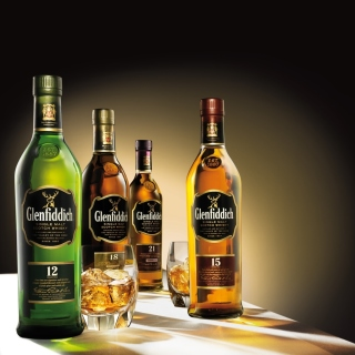 Glenfiddich special reserve 12 yo single malt scotch whiskey - Obrázkek zdarma pro iPad mini