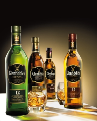 Glenfiddich special reserve 12 yo single malt scotch whiskey - Obrázkek zdarma pro Nokia 5800 XpressMusic