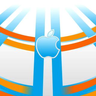 Apple Emblem - Obrázkek zdarma pro iPad 2