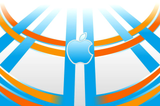 Apple Emblem - Obrázkek zdarma pro Sony Xperia Tablet S