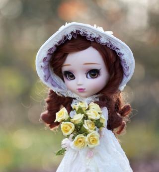 Romantic Doll - Obrázkek zdarma pro 208x208