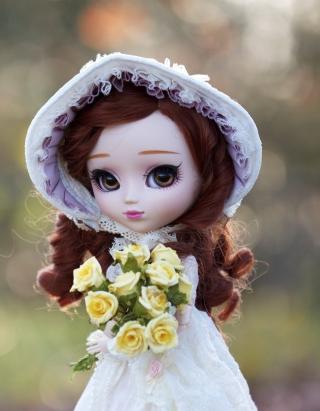 Romantic Doll - Obrázkek zdarma pro Nokia X2-02