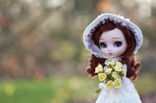 Romantic Doll - Obrázkek zdarma pro Nokia XL