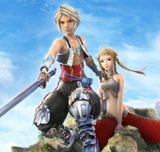 Vaan and Penelo - Final Fantasy XII - Obrázkek zdarma pro iPad Air