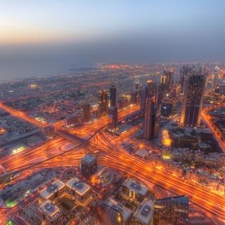 United Arab Emirates, Dubai - Obrázkek zdarma pro 1024x1024