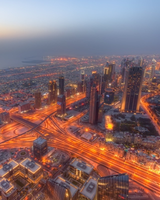 United Arab Emirates, Dubai - Obrázkek zdarma pro Nokia Lumia 505