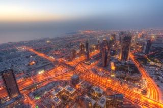 United Arab Emirates, Dubai - Obrázkek zdarma pro Nokia Asha 302