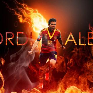 Jordi Alba - Obrázkek zdarma pro 2048x2048