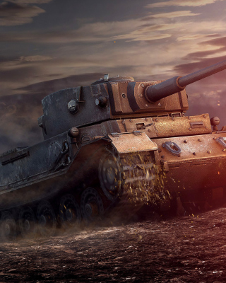 ARL 44 Tank from World of Tanks - Fondos de pantalla gratis para Huawei U7520