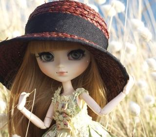 Pretty Doll In Hat - Obrázkek zdarma pro iPad 3