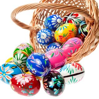 Easter Eggs - Obrázkek zdarma pro iPad