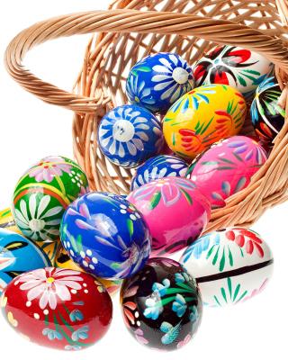 Easter Eggs - Obrázkek zdarma pro Nokia Asha 309