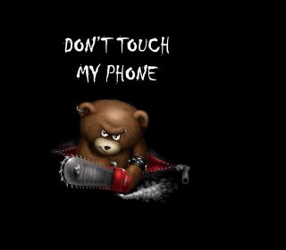 Dont Touch My Phone - Obrázkek zdarma pro iPad Air