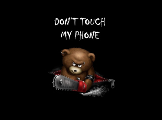 Dont Touch My Phone - Obrázkek zdarma pro Android 320x480
