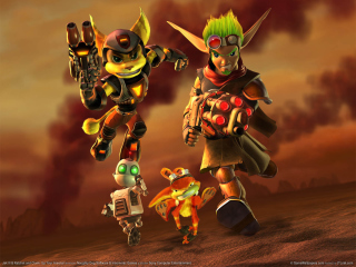 Free Jak and Daxter - Ratchet and Clank Picture for Android, iPhone and iPad