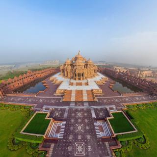 Akshardham, Delhi, Golden Temple - Obrázkek zdarma pro iPad mini