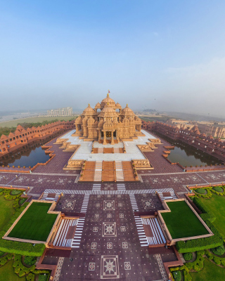 Akshardham, Delhi, Golden Temple Wallpaper for Nokia N8