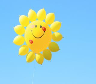 Happy Balloon - Obrázkek zdarma pro iPad Air