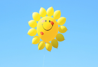 Free Happy Balloon Picture for Android, iPhone and iPad