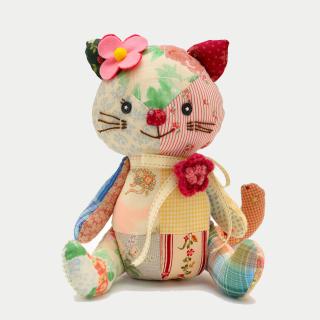 Plush Kitten - Obrázkek zdarma pro iPad mini