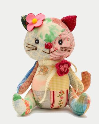 Plush Kitten - Obrázkek zdarma pro iPhone 4S