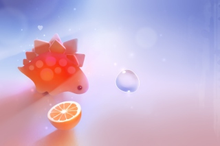 Stegosaurus Dinosaur - Obrázkek zdarma pro LG P700 Optimus L7