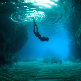 Scuba Diving - Obrázkek zdarma pro 208x208