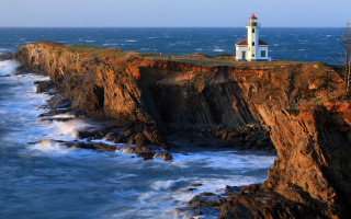 Cape Arago Lighthouse Picture for Android, iPhone and iPad