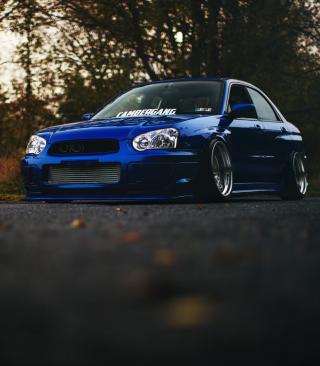 Subaru Impreza WRX STI - Obrázkek zdarma pro iPhone 3G