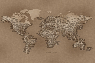 World Map Background for Android, iPhone and iPad