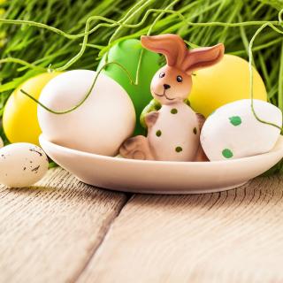 Easter still life with hare - Obrázkek zdarma pro 1024x1024