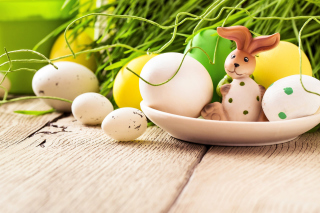 Easter still life with hare - Obrázkek zdarma pro Widescreen Desktop PC 1920x1080 Full HD