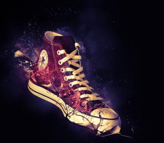 Red Converse - Obrázkek zdarma pro 128x128