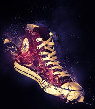 Red Converse - Obrázkek zdarma pro 480x800