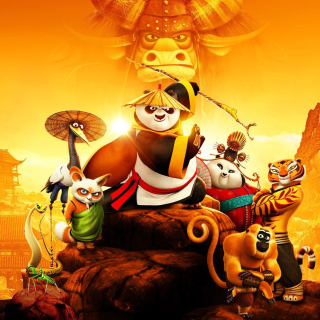 Kung Fu Panda 3 3D - Obrázkek zdarma pro iPad mini 2