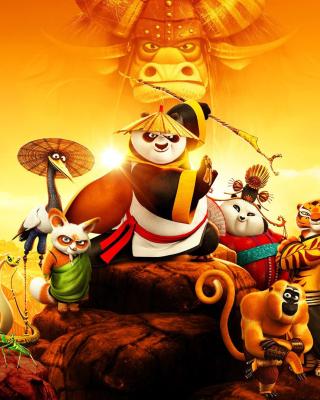 Kung Fu Panda 3 3D - Obrázkek zdarma pro Nokia X7