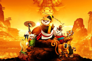 Kung Fu Panda 3 3D Background for Android, iPhone and iPad