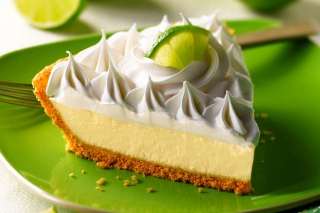 Lime Cheesecake - Obrázkek zdarma pro Nokia Asha 205