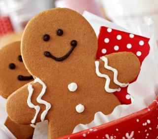Ginger Bread Christmas Cookies - Obrázkek zdarma pro iPad mini