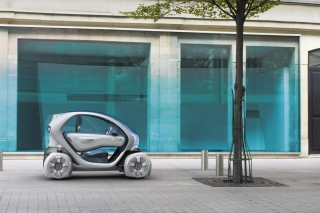 Renault Twizy Background for Android, iPhone and iPad