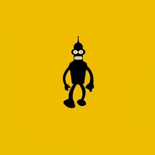 Bender Futurama - Obrázkek zdarma pro iPad Air