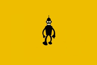 Bender Futurama Background for Android, iPhone and iPad