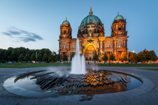 Berliner Dom Background for Android, iPhone and iPad