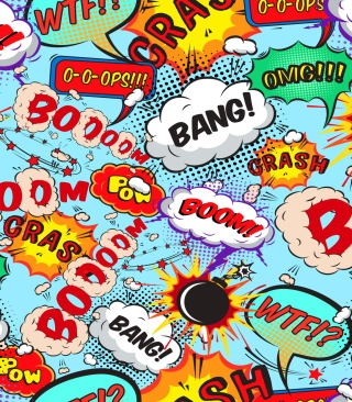 Expressions Crash Boom Bang - Obrázkek zdarma pro Nokia Lumia 810