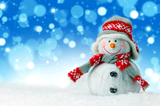 Christmas Snowman Festive Sign Picture for Android, iPhone and iPad