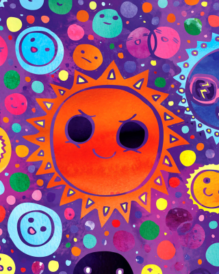 Free Funny Suns Picture for 480x854