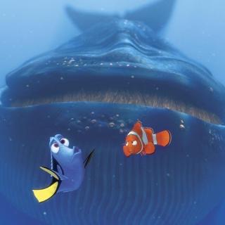 Finding Nemo Whale - Obrázkek zdarma pro iPad mini 2