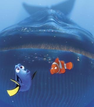 Finding Nemo Whale - Obrázkek zdarma pro 240x432